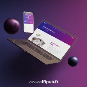 Affipub Communication prestataire web et réseaux sociaux / Oise / Hauts-de-France pour Cyrialis